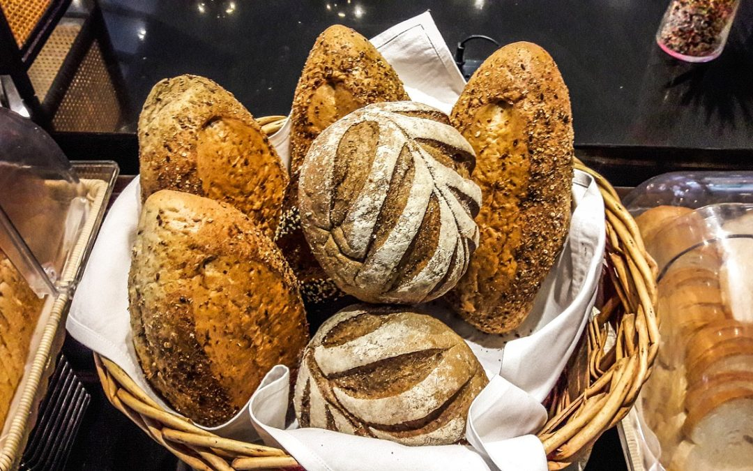 All Types of Bread in a Basket