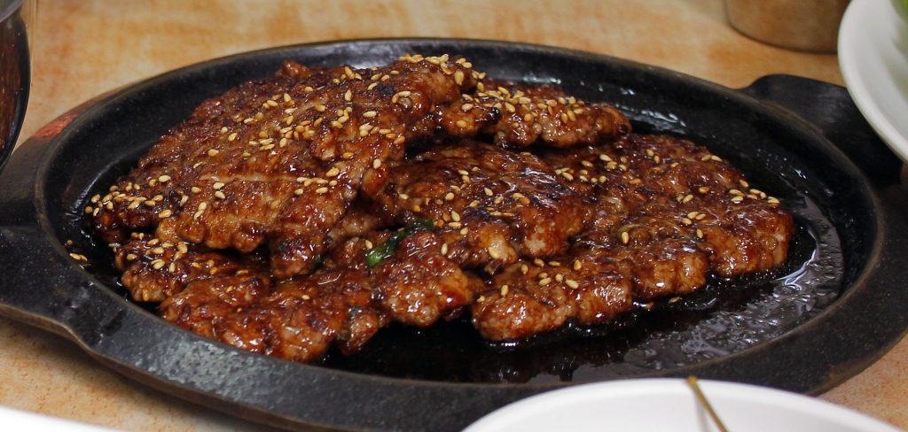 Korean Flank steak Galbi