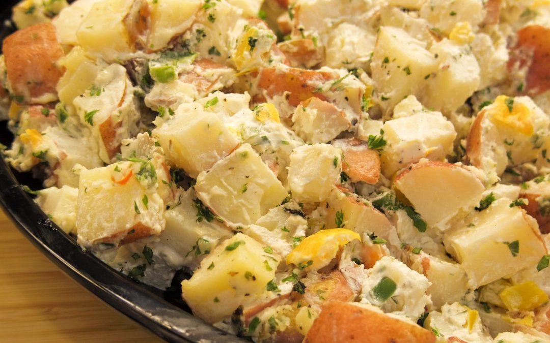 Potato Salad Closeup