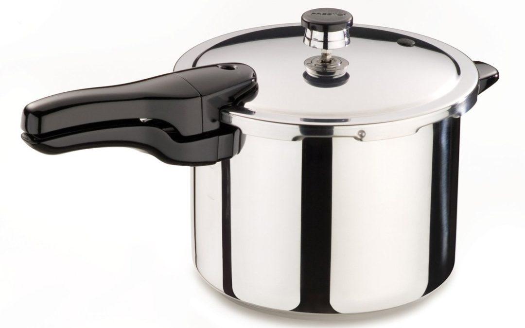 Pressure Cooker Isolated