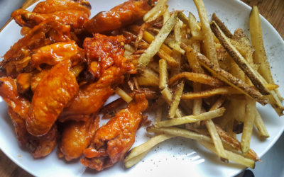 Buffalo Style Cooking 202: Delicious Fries with a Homemade Buffalo Sauce
