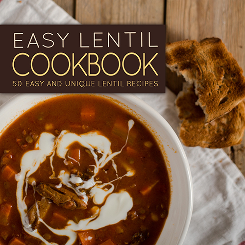 Easy Lentil Cookbook by BookSumo Press
