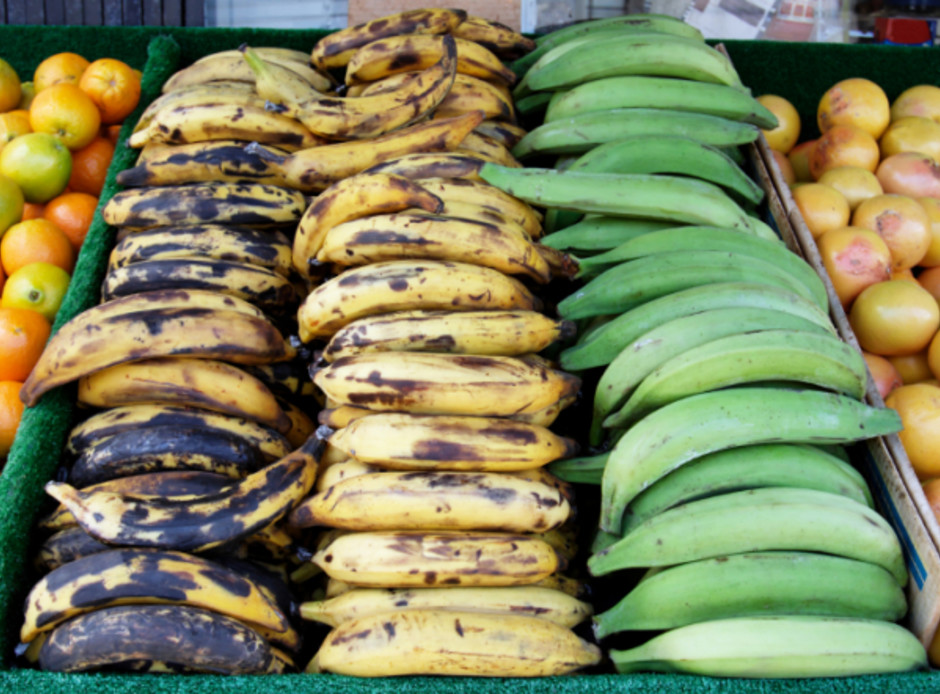 Plaintains Ripening